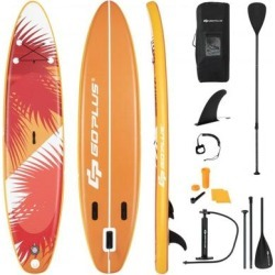 Costway 10.5' Inflatable Stand Up board with Aluminum Paddle Pump-M found on Bargain Bro Philippines from Costway for $259.95