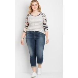 Plus Size Jeans Silver Jeans Co.® Womens Avery High Rise Cropped Jean Blue Denim - Size 20W - Maurices found on Bargain Bro from Maurices for USD $63.84