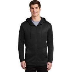 Nike Therma-Fit Full Zip Fleece Hoodie (Black - M), Men's found on Bargain Bro from Overstock for USD $61.93
