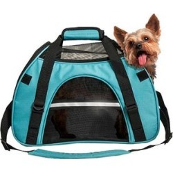 Furhaven Pet Products Pet Carriers Robin - Robin's Egg Blue Pet Tote found on Bargain Bro from zulily.com for USD $21.26