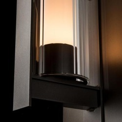 Hubbardton Forge Vertical Bar 23 Inch Tall 1 Light Outdoor Wall Light - 307283-1000 found on Bargain Bro from Capitol Lighting for USD $760.76
