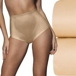 Bali 2-Pack Firm Control Tummy Panel Shaping Briefs X710, Women's, Size: XXL, Beige found on Bargain Bro from Kohl's for USD $18.08