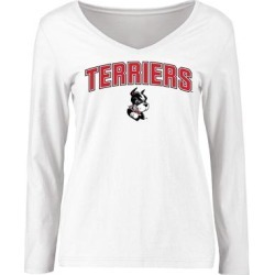 Boston University Women's Proud Mascot Long Sleeve T-Shirt - White found on Bargain Bro from Fanatics for USD $18.99