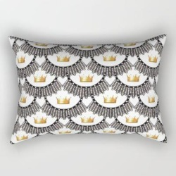 Rectangular Pillow   Rbg-queen-2 by Suhredesigns - Small (17