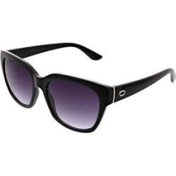 Oscar de la Renta Women's Sunglasses Black - Black Geometric Square Sunglasses found on MODAPINS from zulily.com for USD $16.99