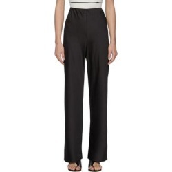Wide Leg Satin Pants - Black - Vince Pants found on Bargain Bro from lyst.com for USD $224.20