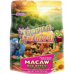 Brown's Tropical Carnival Gourmet Macaw Food, 14 LBS found on Bargain Bro from petco.com for USD $60.79