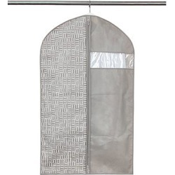 ELLE Decor Garment Bags - Gray Window Short Garment Bag found on Bargain Bro India from zulily.com for $4.99