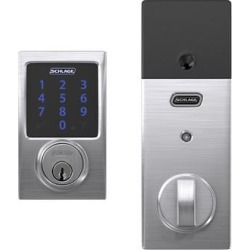 Schlage BE469NX-CEN Connect Century Touchscreen Electronic Deadbolt found on Bargain Bro from Overstock for USD $139.89