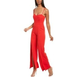 Bebe Jumpsuit (12), Women's, Red(polyester) found on Bargain Bro Philippines from Overstock for $55.43