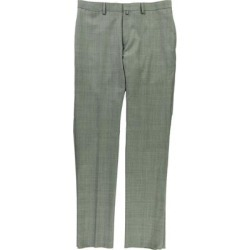 Ralph Lauren Mens Checkered Dress Pants Slacks, Grey, 34W x UnfinishedL - 34W x UnfinishedL found on Bargain Bro Philippines from Overstock for $183.27