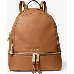 Michael Kors Rhea Medium Leather Backpack Brown One Size found on Bargain Bro Philippines from Michael Kors for $328.00
