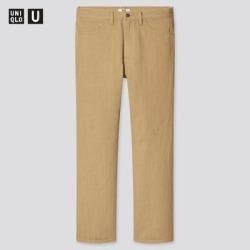 UNIQLO Men's U Regular-Fit Jeans, Beige, 31 in. found on Bargain Bro India from Uniqlo for $19.90