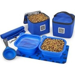 Mobile Dog Gear Dine Away Dog Bag, Royal Blue, 21-in found on Bargain Bro India from Chewy.com for $29.99