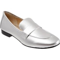 Women's Gemma Slip-on by Trotters in Silver (Size 12 M) found on Bargain Bro Philippines from Woman Within for $139.99
