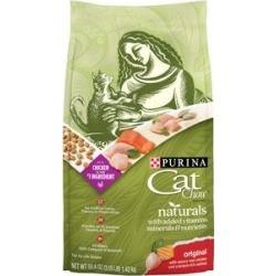 Cat Chow Naturals Original Dry Cat Food, 3.15-lb bag