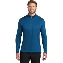 Nike Men's Dry 1/2 Zip Warm Up Shirt found on Bargain Bro from Overstock for USD $43.69