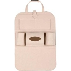 Kalumei Car Organizers Beige - Beige Car Seat Storage Bag found on Bargain Bro Philippines from zulily.com for $12.99
