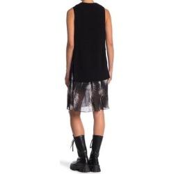 Dillon Twofer Sweater Dress - Black - AllSaints Dresses found on Bargain Bro from lyst.com for USD $98.80