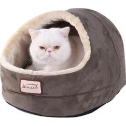 Armarkat Cave Cat Bed in Laurel Green, 18