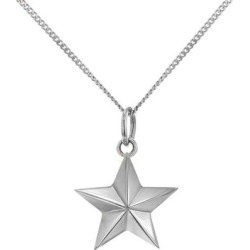 Mini Sterling Silver Star Pendant - Metallic - True Rocks Necklaces found on Bargain Bro Philippines from lyst.com for $270.00