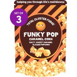Total Cluster Fudge Popcorn - Funky Pop Caramel Popcorn - Set of Three found on Bargain Bro Philippines from zulily.com for $14.99