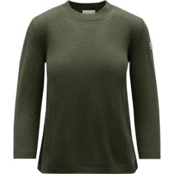 3/4 Sleeve Sweater - Green - Moncler Knitwear found on Bargain Bro Philippines from lyst.com for $750.00