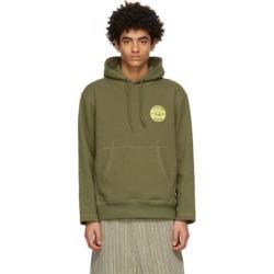 Khaki Stepping Razor Hoodie - Green - Nicholas Daley Sweats found on MODAPINS from lyst.com for USD $490.00