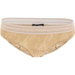 Dolce & Gabbana Lace Briefs - Natural - Dolce & Gabbana Lingerie found on Bargain Bro from lyst.com for USD $83.60