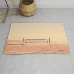 Modern Throw Rug | Beach Volleyball by Restored Art And History - 2' x 3' - Society6 found on Bargain Bro India from Society6 for $34.30