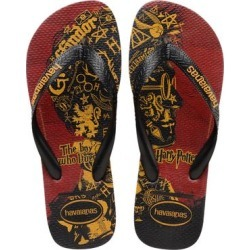Havaianas Men's Flip-Flops RED/BLACK - Harry Potter Red & Black Gryffindor Flip-Flop - Men found on MODAPINS from zulily.com for USD $12.99