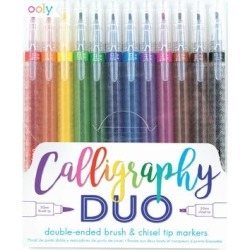 ooly Markers - Calligraphy Duo 12-Ct. Double-Ended Markers Set found on Bargain Bro Philippines from zulily.com for $12.99