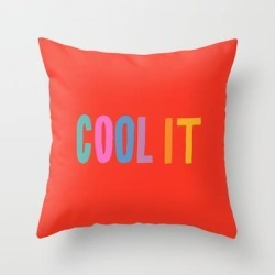 Couch Throw Pillow | Cool It by Julia Walck - Cover (16