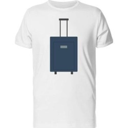 Luggage In Flat Style Tee Men's -Image by Shutterstock (S), White found on Bargain Bro Philippines from Overstock for $13.99