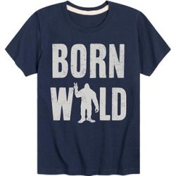 Instant Message Boys' Tee Shirts NAVY - Navy 'Born Wild' Tee - Toddler & Boys found on Bargain Bro from zulily.com for USD $8.35