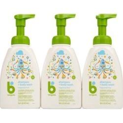 Babyganics Shampoo - Fragrance-Free Baby Shampoo + Body Wash - Set of 3 Bottles