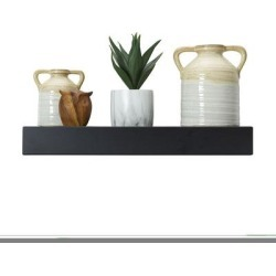 Mikasa Black Chunky Floating Shelf found on Bargain Bro from Kohl's for USD $42.55