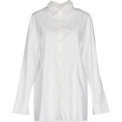 Shirt - White - MM6 by Maison Martin Margiela Tops found on Bargain Bro from lyst.com for USD $172.52