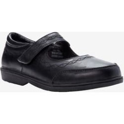 Women's Mary Ellen Flat by Propet in Black (Size 8 1/2 M) found on Bargain Bro Philippines from Woman Within for $82.99