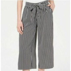 MAISON JULES Womens Black Striped Wear To Work Pants Size XXS (Black - XXS), Women's(Polyester) found on Bargain Bro Philippines from Overstock for $15.37