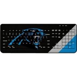 Carolina Panthers Diagonal Stripe Wireless Keyboard found on Bargain Bro from nflshop.com for USD $45.59