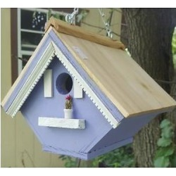 Bird Houses by Mark Victorian Wren Bird House, Lavender found on Bargain Bro from Chewy.com for USD $21.62