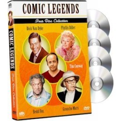 Comic Legends 4-DVD Collection found on Bargain Bro Philippines from PulseTV for $15.99