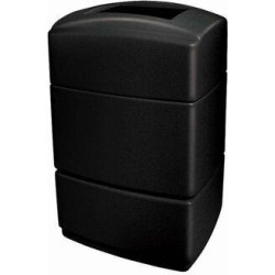 Commercial Zone PolyTec 40 Gallon Trash CanPlastic in Black, Size 34.0 H x 20.0 W x 17.0 D in   Wayfair 733101 found on Bargain Bro Philippines from Wayfair for $163.88