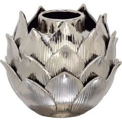 Stella & Eve Glam Ceramic Silver Bud Vase, Grey, Small found on Bargain Bro from Kohl's for USD $39.84