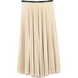 Beige Table Skirt - Natural - Lacoste Skirts found on MODAPINS from lyst.com for USD $264.00