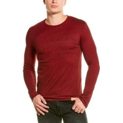 Superdry Shirt Shop Embossed T-Shirt (M), Men's, Red found on Bargain Bro India from Overstock for $19.79