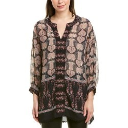 Anna Sui Chiffon Tunic (0), Women's, Black found on MODAPINS from Overstock for USD $116.81