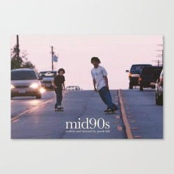 Mid 90s Aesthetic Canvas Print by Georgierussel - LARGE