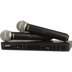 Shure BLX Wireless System H10 Dual HH System BLX2/PG58 BLX88